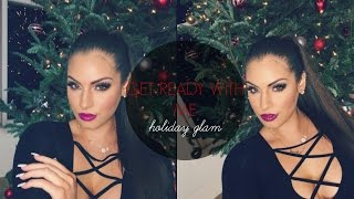 GET READY WITH ME♡ HOLIDAY GLAM