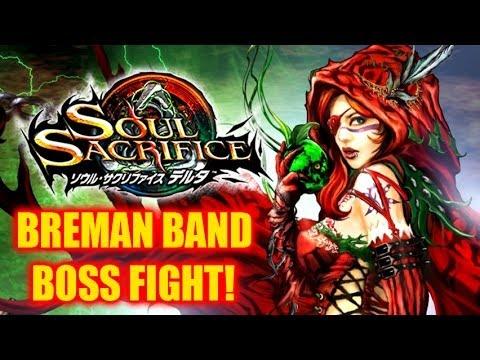 Soul Sacrifice Delta Gameplay - Breman Band Boss Fight!