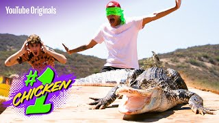 How To Survive Wrassling TWO Gators At Once | #1 Chicken