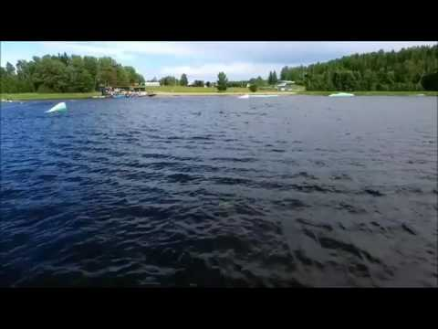 Wakeboarding at Fagersta cable park