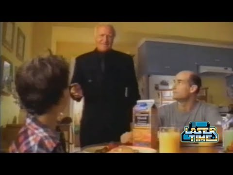 Robert Loggia Minute Maid Commercial Spectacular  Laser Time