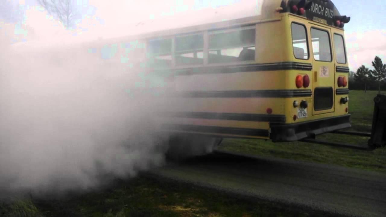 School Bus Burnout!!