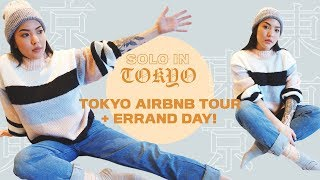 Gambar cover Tokyo AIRBNB Tour + Errand Day! | Solo in Tokyo | soothingsista