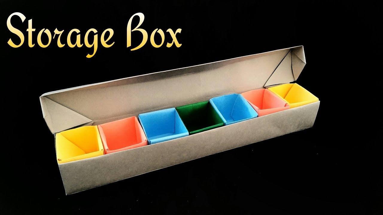 Storage Jewellery Box Diy Origami Tutorial By Paper Folds