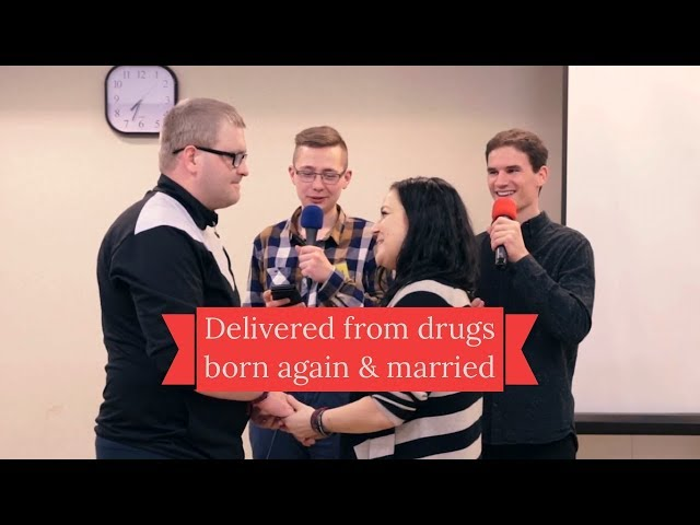 Free from drugs, baptised & married (Kickstart Poland)