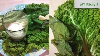 Быстрые рецепты. Салат из мангольда c томатами. Вкусно и полезно