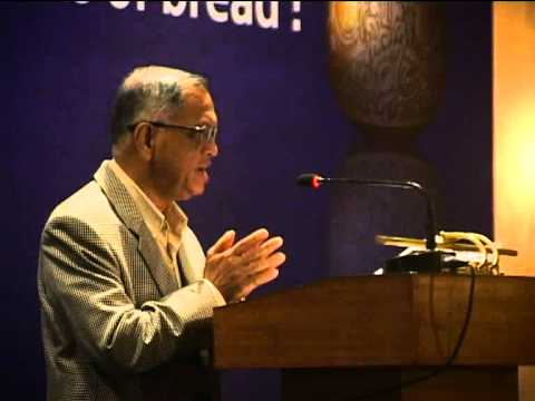 Narayana Murthy speaks on The Akshaya Patra Foundation in Kolkata