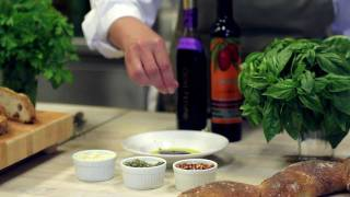 How To Make The Perfect Bread Dipping Oil By The Olive Press