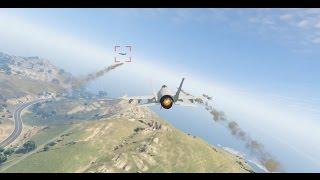 [PC] [73] Grand Theft Auto V Online: Чёртовы истребители (Мартин)