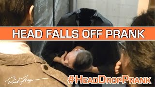 How to REMOVE YOUR HEAD Prank!! Easy HEAD DROP Trick Explained!