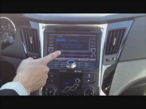 How to operate the 2012 Hyundai Sonata Factory Integrated Navigation