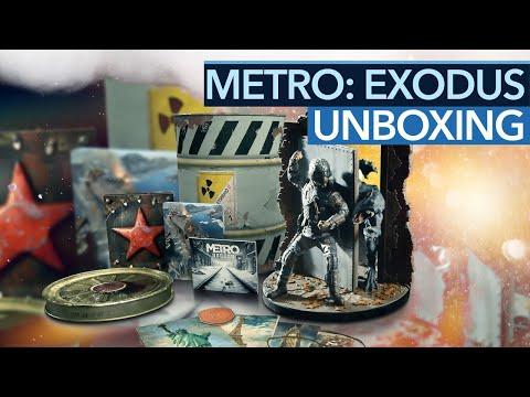 Metro: Exodus - Spartan Edition Unboxing - Das steckt in der Atommülltonne