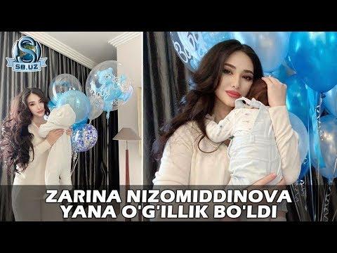 Зарина Низомиддинова яна ўғиллик бўлди! | Zarina Nizomiddinova yana o'g'illik bo'ldi!