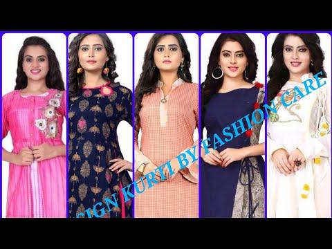 New kurti design in India 2019 by Fashioncare