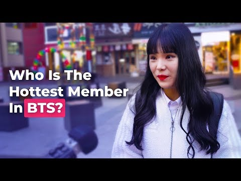 Who Is The Hottest Member In BTS? | Koreans Answer On The Street | Koreaboo Studios