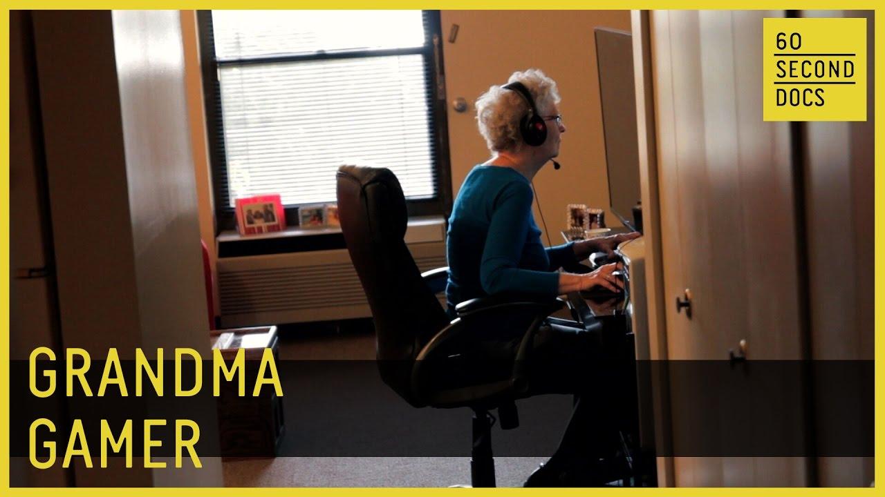 24d1b11b68 Grandma Gamer    60 Second Docs - YouTube