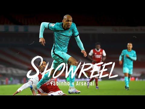 Showreel: Fabinho dominates at the Emirates | Arsenal vs Liverpool