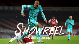 Showreel: Fabinho dominates at the Emirates | Arsenal vs Liverpool