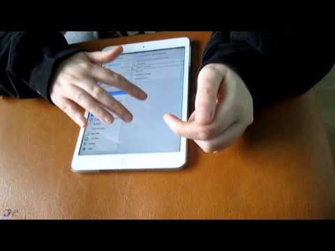 How a blind girl uses an iPad - Accessibility Review