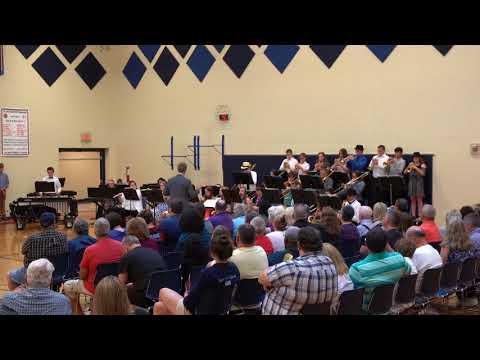 Jackson Middle School Jazz Band - Traces