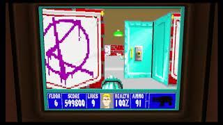 Wolfenstein 3D Episode 6 Floor 6
