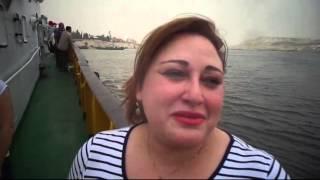 غادة الفداوى بوزارة الطيران المدنى : لم أتوقع ما شاهدته بقناة السويس وربنا معاك يا سيسي