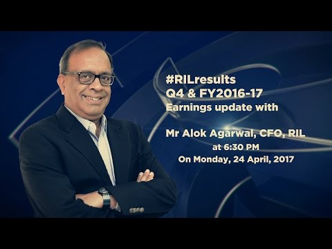 #RIL CFO Mr Alok Agarwal comments on Q4 & FY 2016-17 #RILresults