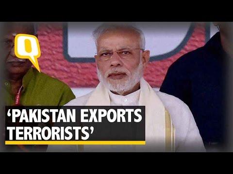 The Quint: PM Modi Slams Pak for Terrorism, Says 'They Export Terrorists'