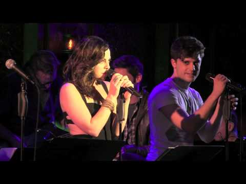 Krysta Rodriguez with Andy Mientus –