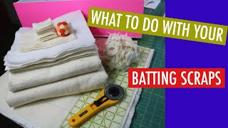 HOW TO ORGANIZE YOUR BATTING SCRAPS