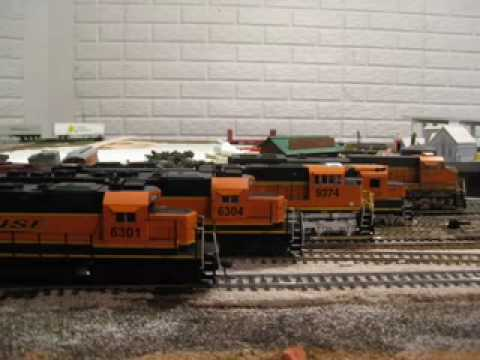Model Railroad Toy Train Track Plans -Remarkable HO BNSF trains