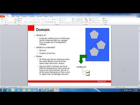 WebLogic Server Administration Videos Session 01 , WebLogic Administration Training