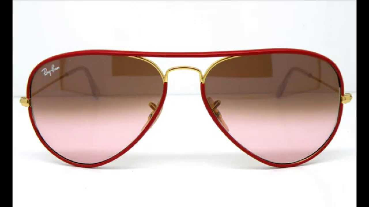 Red frame ray ban aviators india for Ray ban aviator verre miroir