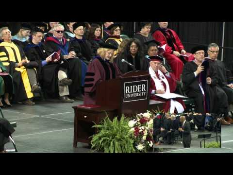2017 Rider University Graduate and College of Continuing Studies Commencement Ceremony