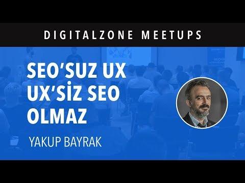 SEO'suz UX, UX'siz SEO Olmaz - Yakup Bayrak
