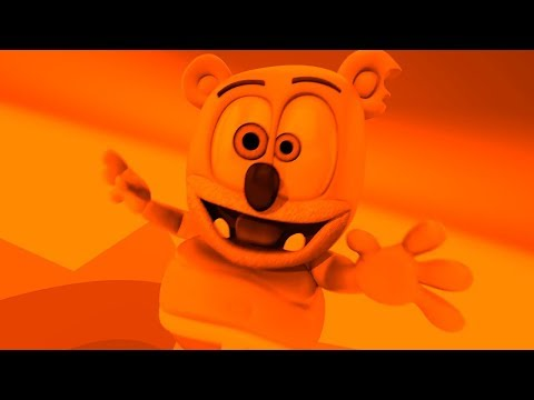 ORANGE & BLACK Gummibär SPECIAL REQUEST Finnish JHD Gummy Bear Song