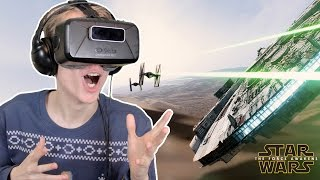 Star Wars: The Force Awakens in Virtual Reality (Oculus Rift: DK2)