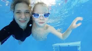 Грудничковое плавание в Краснодаре | Аквапузики ФМР #08