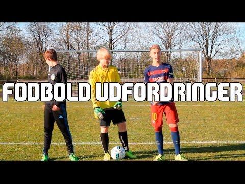 Dansk - Fodbold Udfordringer FT. Frederik og Sebastian