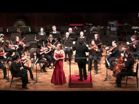 Amy Porter performs Mozart G Major K. 313 Mvt 1. Allegro maestoso