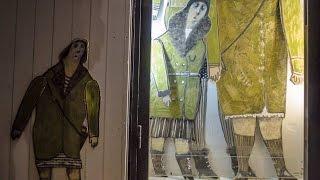 Алиса Юфа. Выставка в галерее ''Дверь''