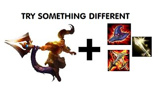 Try something different - AP Xin Zhao