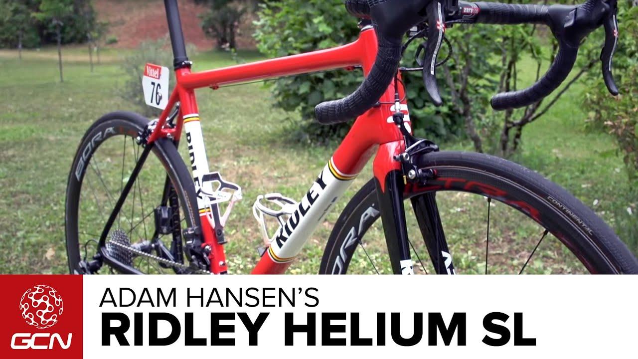 Adam Hansen S Ridley Helium Sl Youtube