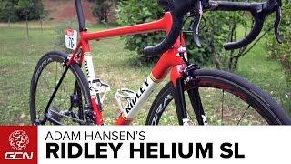 Adam Hansen's Ridley Helium SL