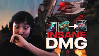 INSANE DAMAGE Jhin build | Doublelift