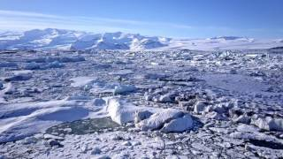 jokulsarlon glacier lagoon iceland dji mavic pro 4k