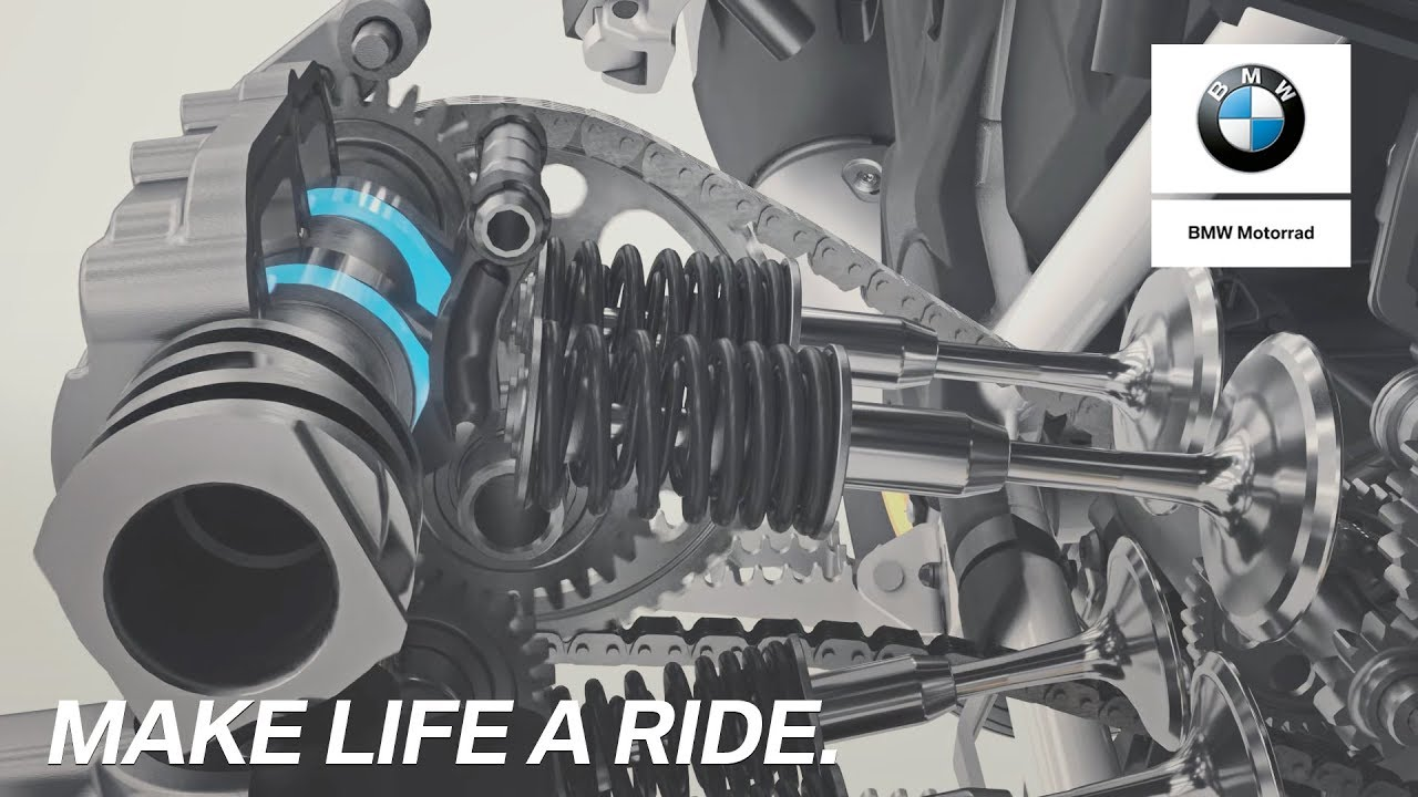 The new 1250cc Boxer Engine with BMW ShiftCam