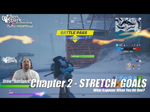 Hitting Stretch Goals In Fortnite Chapter 2
