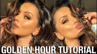 GOLDEN HOUR MAKEUP TUTORIAL + SKIN PREP WITH KIEHLS  KAUSHAL BEAUTY