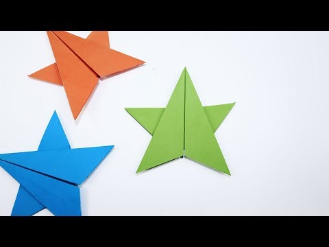 Origami - How to Make a Star - Paper Star for begginers
